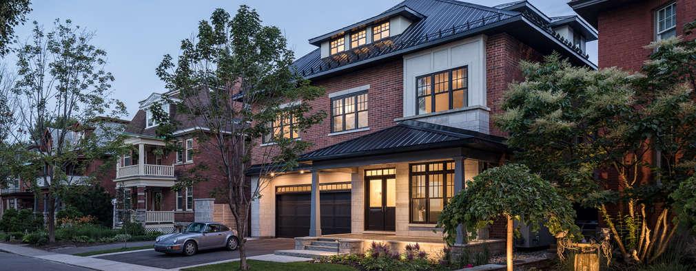 منازل تنفيذ Flynn Architect