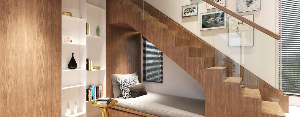 16 propuestas brillantes para el espacio debajo de las for Cocinas debajo de las escaleras