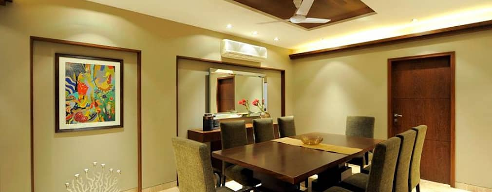 modern Dining room by DesignTechSolutions