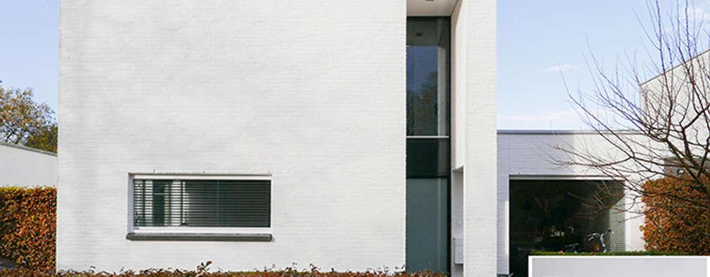 Une maison de style Bauhaus rénovée