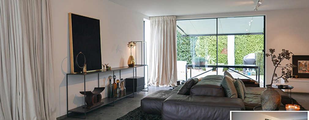 woonkamer: moderne Woonkamer door KleurInKleur interieur & architectuur