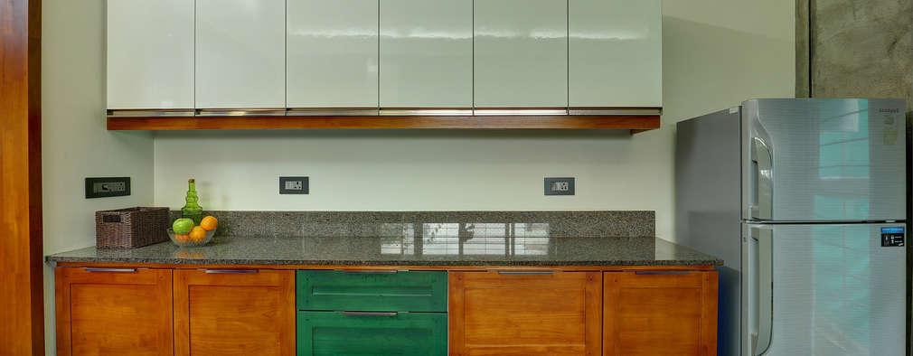 Tropical home 1: tropical Kitchen by Studio Nirvana