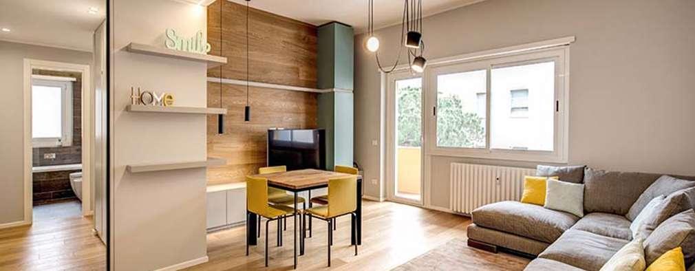 Un apartamento moderno y confortable para enamorarse for Rizzo revestimientos
