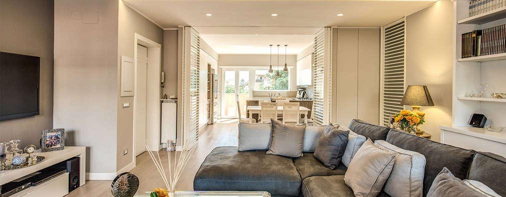 Una casa moderna con un toque shabby chic for Casa moderna shabby chic