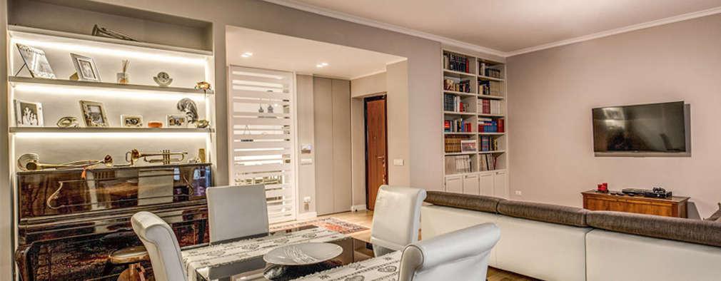 15 soggiorni con una sala da pranzo mozzafiato for Piani di casa in stile mediterraneo