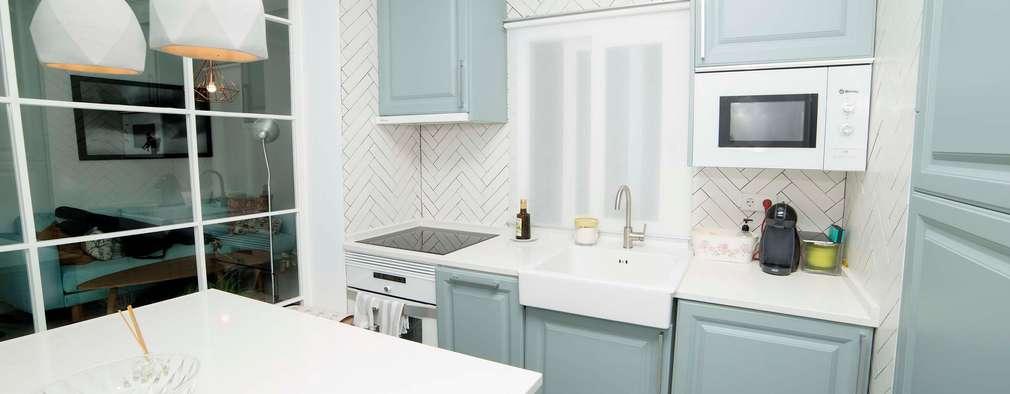5 revestimientos de paredes maravillos para tu cocina for Revestimientos paredes cocina