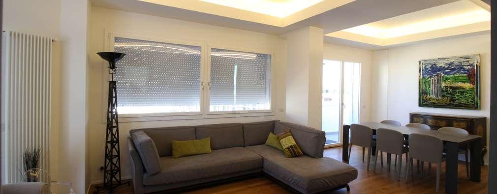 Un appartamento moderno e sofisticato palermo for Progetto appartamento moderno