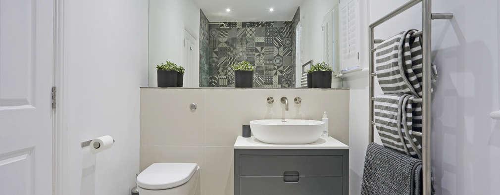 Baños de estilo moderno por PAD ARCHITECTS
