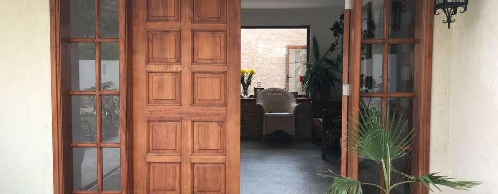 Projekty,  Drzwi zaprojektowane przez Área Urbana Arquitectos SpA