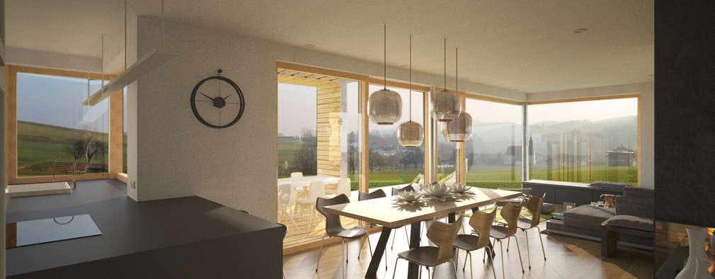Projekty,  Jadalnia zaprojektowane przez AL ARCHITEKT