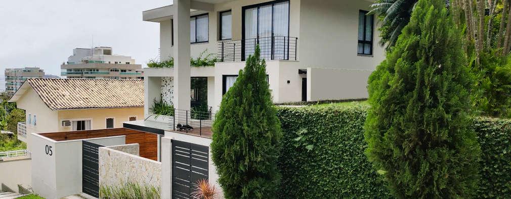 CASA DV: Casas modernas por Cláudio Maurício e Paulo Henrique