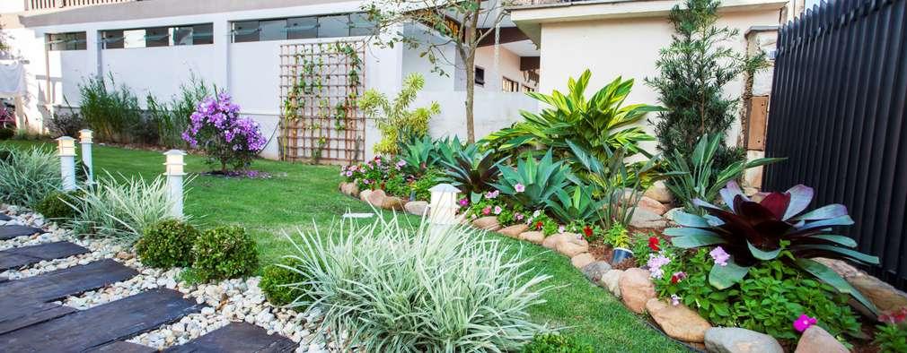 Jardins rústicos por homify