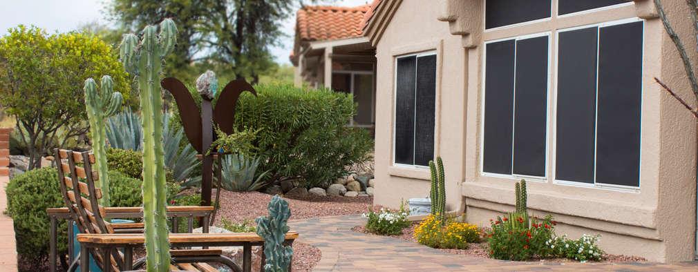 Jardines de estilo moderno por D&V Landscaping Services LLC