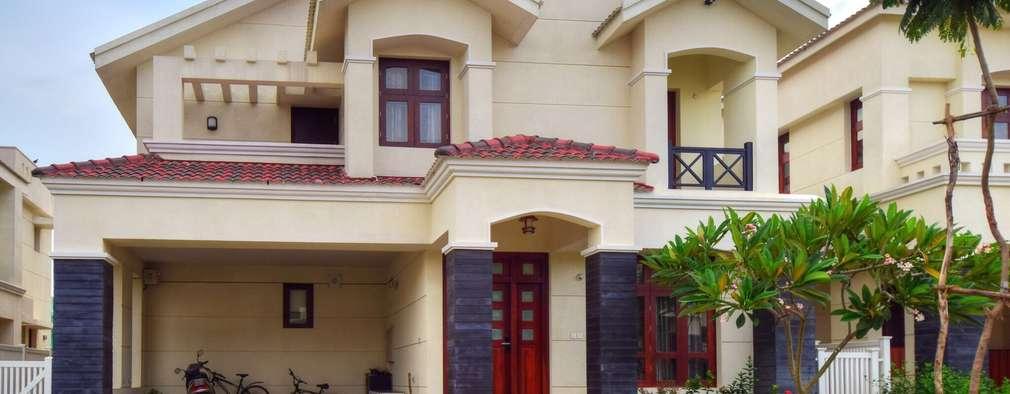 the villa: modern Houses by Team Kraft