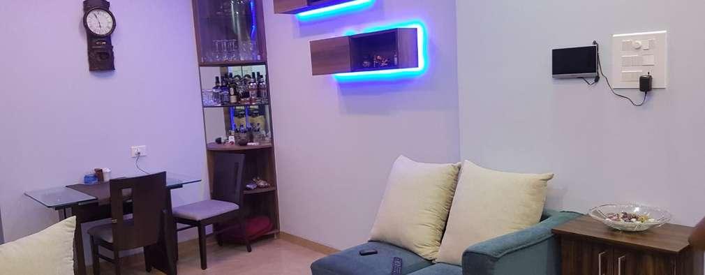 Navi Mumbai flat:   by Creative Focus