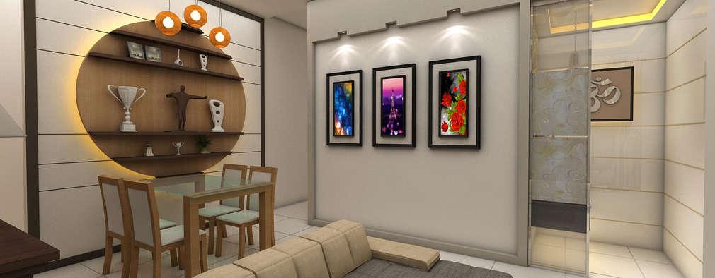Modern Living Room: modern Living room by Creative Focus