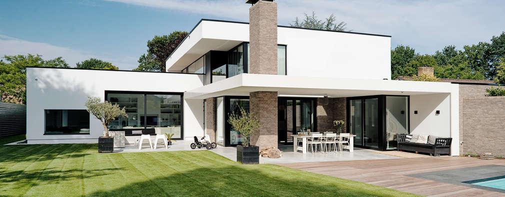 Een moderne villa met stijl wij zijn fan for Architecten moderne stijl