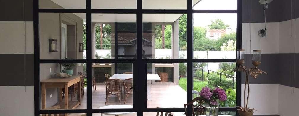 بيت زجاجي تنفيذ Estudio Dillon Terzaghi Arquitectura