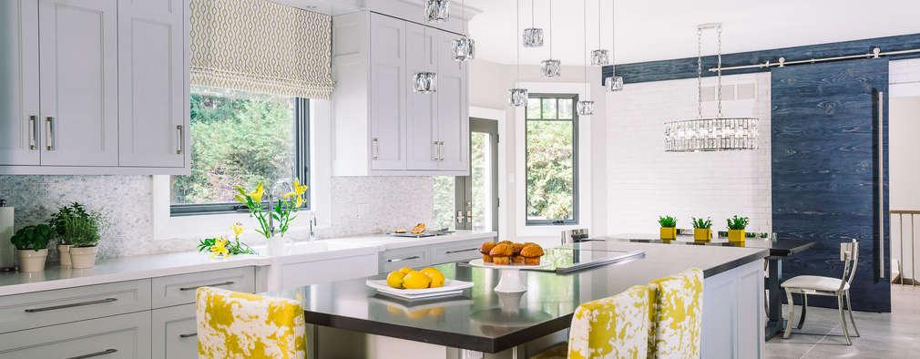 مطبخ تنفيذ Frahm Interiors
