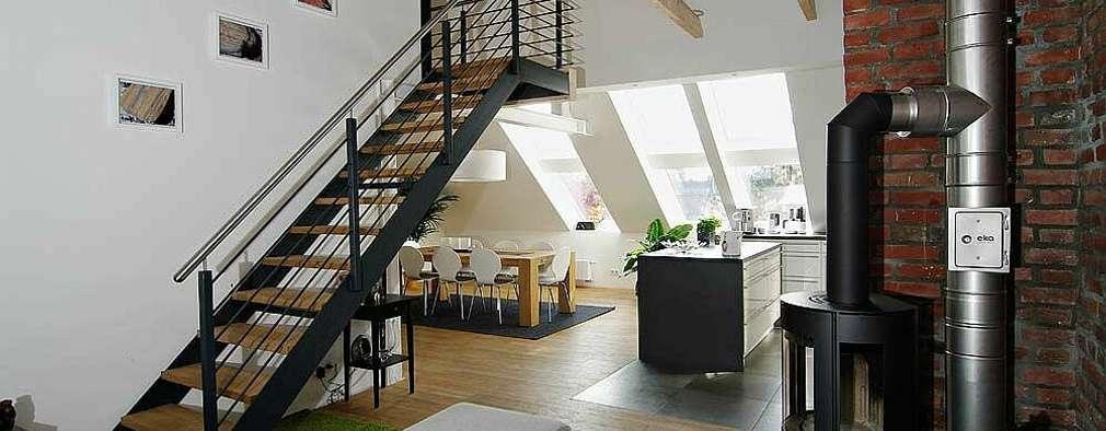 wohnung mit dachschr ge richtig einrichten. Black Bedroom Furniture Sets. Home Design Ideas
