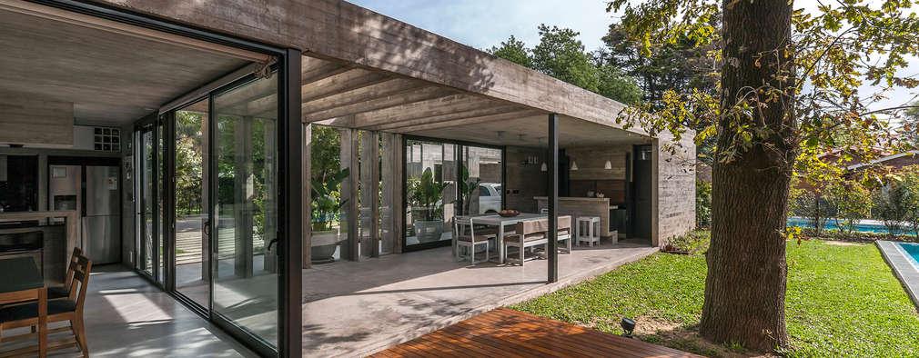 10 quinchos modernos el tradicional asado en un espacio for Para desarrollar un jardin contemporaneo