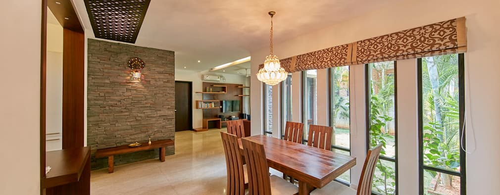 Dining area: modern Dining room by NVT Quality Build solution