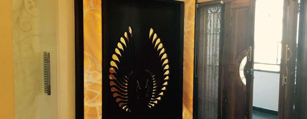 Dr.Sudhakar's Residence,Tirupathi:  Wooden doors by M/s Studio7 Architects