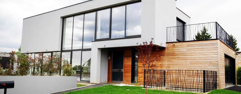 Beautiful Maison Moderne Carre Ideas - House Interior - historisches ...