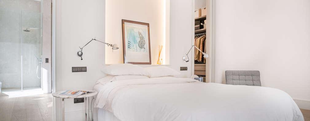 Projekty,  Sypialnia zaprojektowane przez Tarimas de Autor