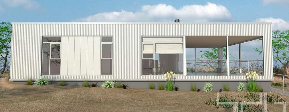 Vista Lateral:  de estilo  por BDB Arquitectura