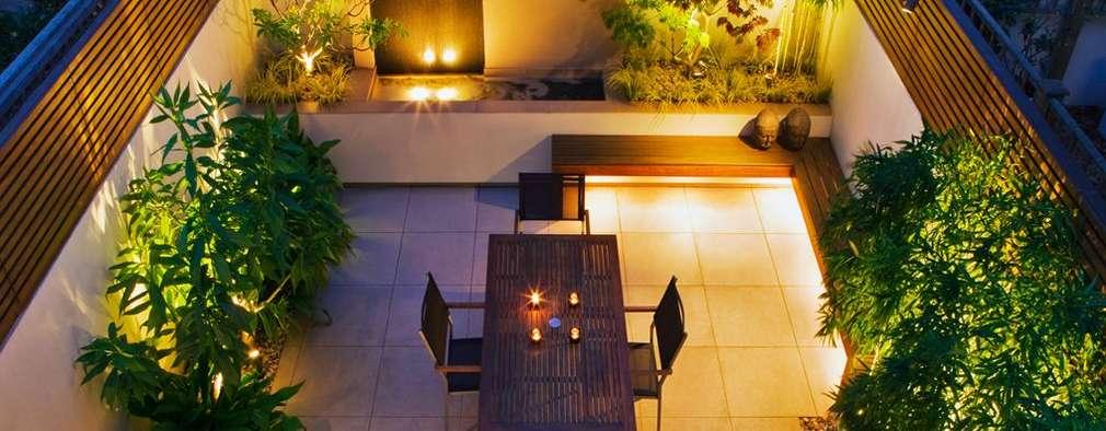 Courtyard garden ideas: modern Garden by MyLandscapes Garden Design