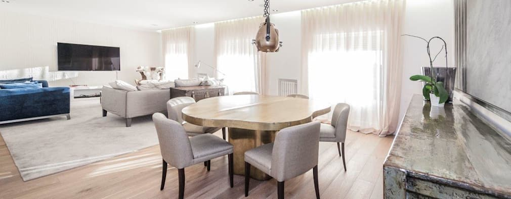 modern Dining room by DOMUS NOVA