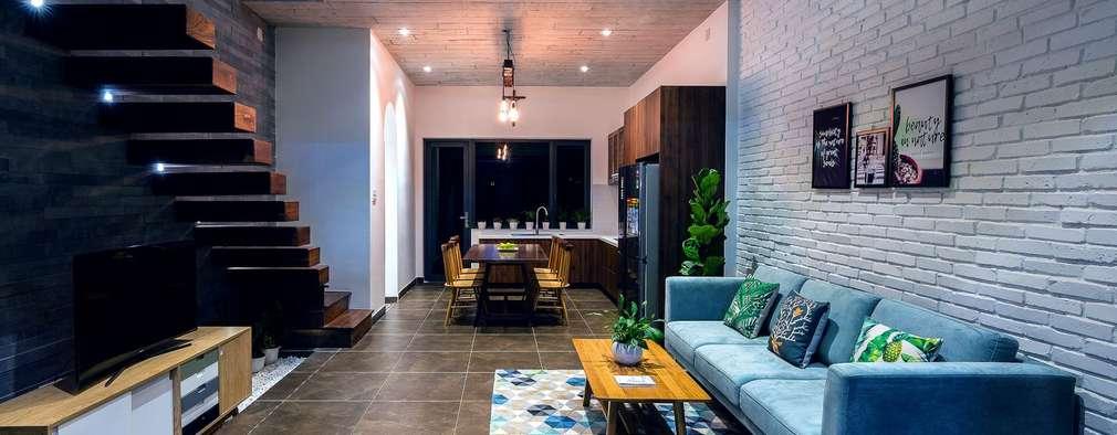 غرفة المعيشة تنفيذ Công ty TNHH Xây Dựng TM – DV Song Phát