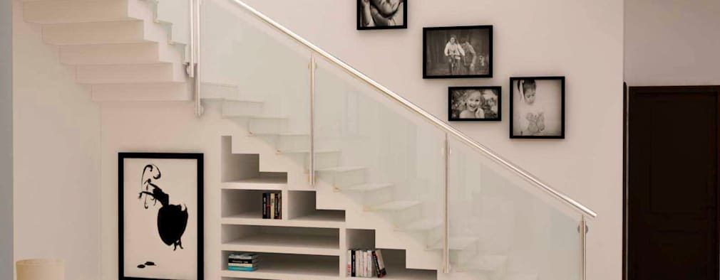 Under stairs storage :  Stairs by NVT Quality Build solution