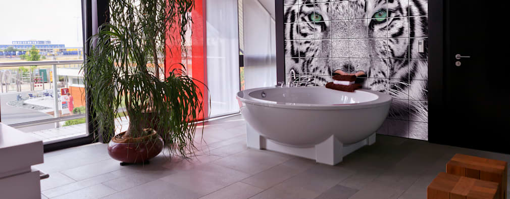 modern Bathroom by UniqueTiles Ltd