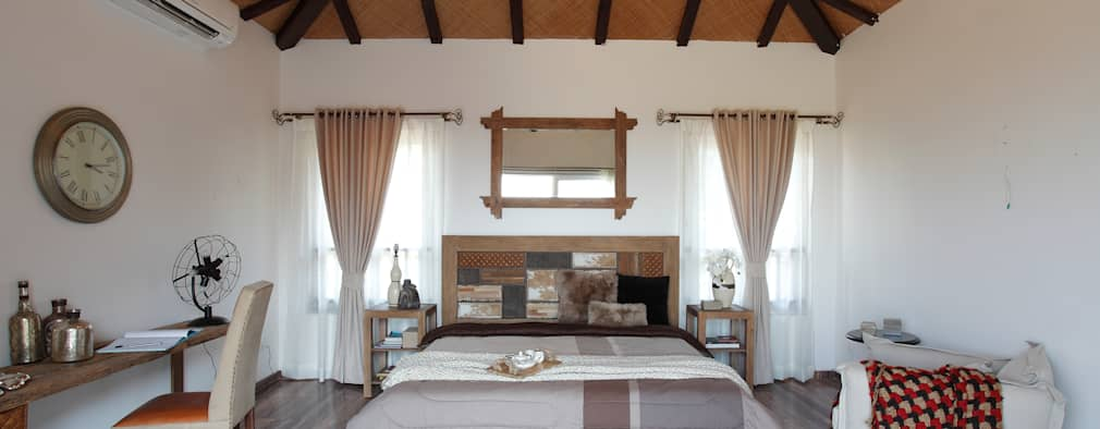 Hakuna Matata: rustic Bedroom by Mahesh Punjabi Associates