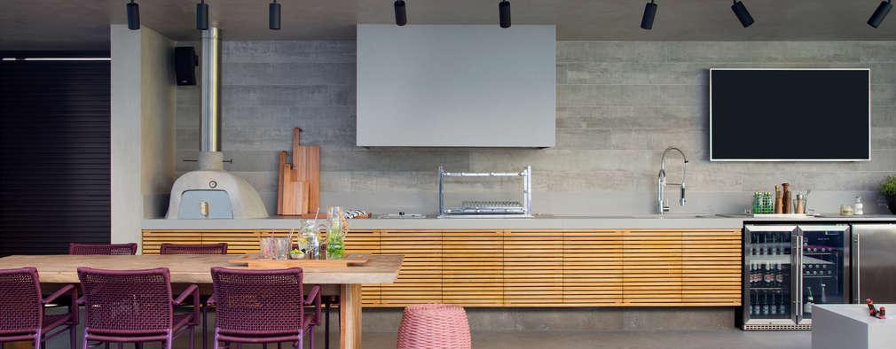 مطبخ تنفيذ Hobjeto Arquitetura