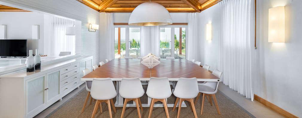Sala de Jantar: Salas de jantar mediterrânicas por Pedro Queiroga | Fotógrafo