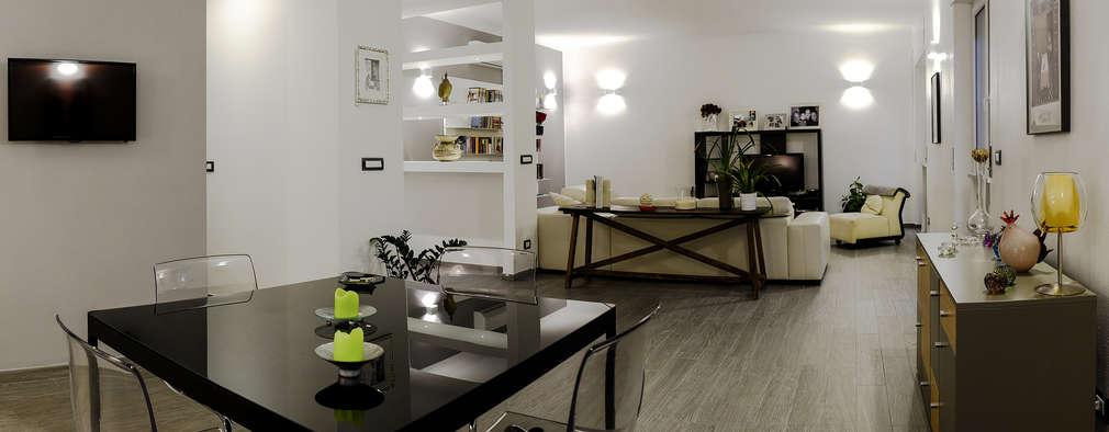 Un appartamento moderno con una interessante separazione for Un aiuola dell appartamento