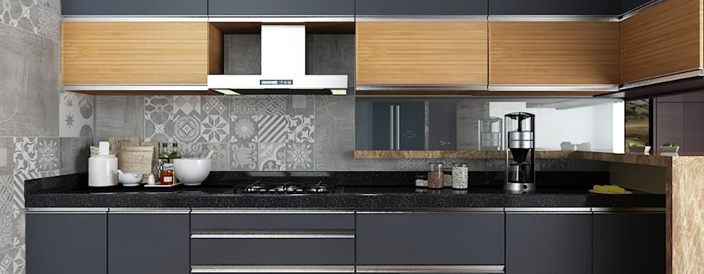 Subramaniam krishnan: modern Kitchen by Neelanjan Gupto Design Co