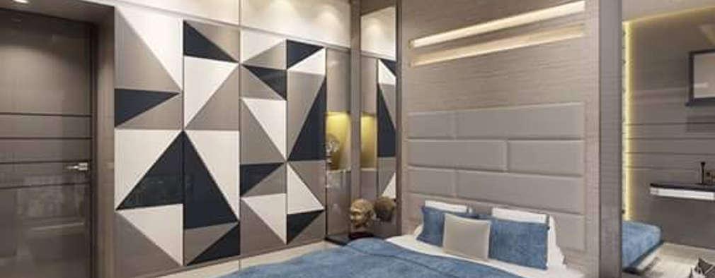 kids bedroom: modern Bedroom by KUMAR INTERIOR THANE