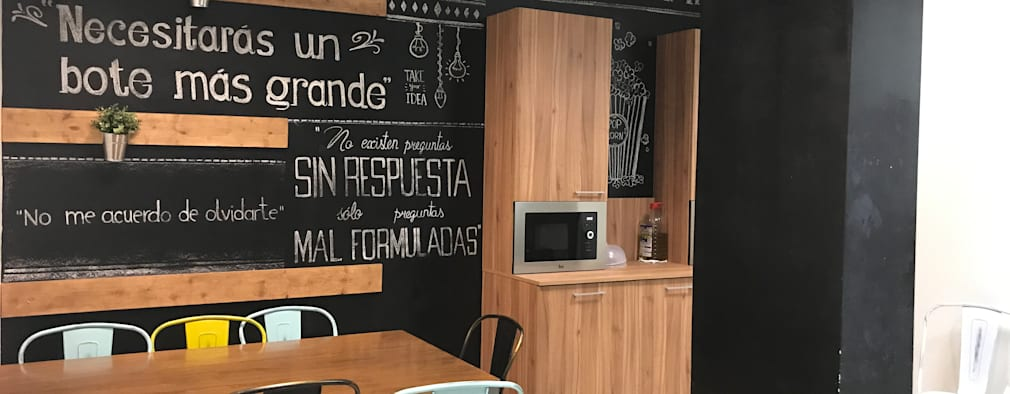 Un proyecto de interiorismo integral en barcelona de cine for Estudiar interiorismo barcelona