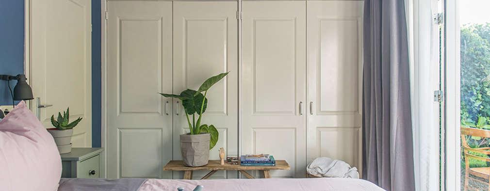 Schitterende moderne slaapkamer met verf van een verfspecialist uit ...