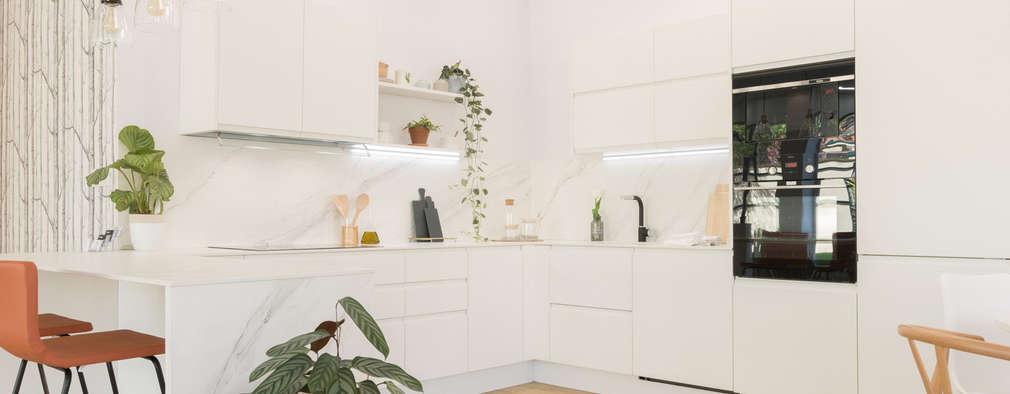 مطبخ ذو قطع مدمجة تنفيذ Become a Home