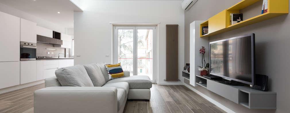Un modernissimo appartamento di 70 mq ristrutturato a roma for Appartamenti ristrutturati