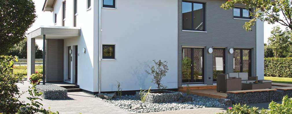 NEO 300 - Das Einfamilienhaus mit Holzfassade :  Fertighaus von FingerHaus GmbH