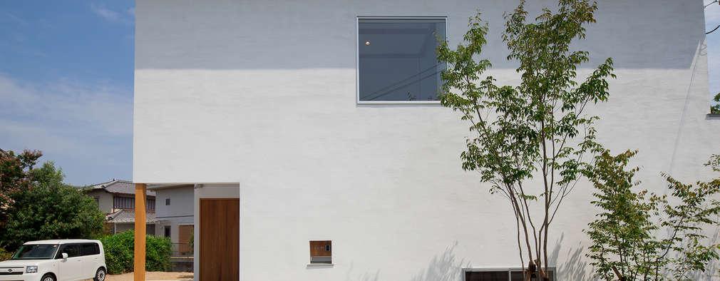 庭間の家: I Live Architects/田辺弘幸建築設計事務所が手掛けた家です。