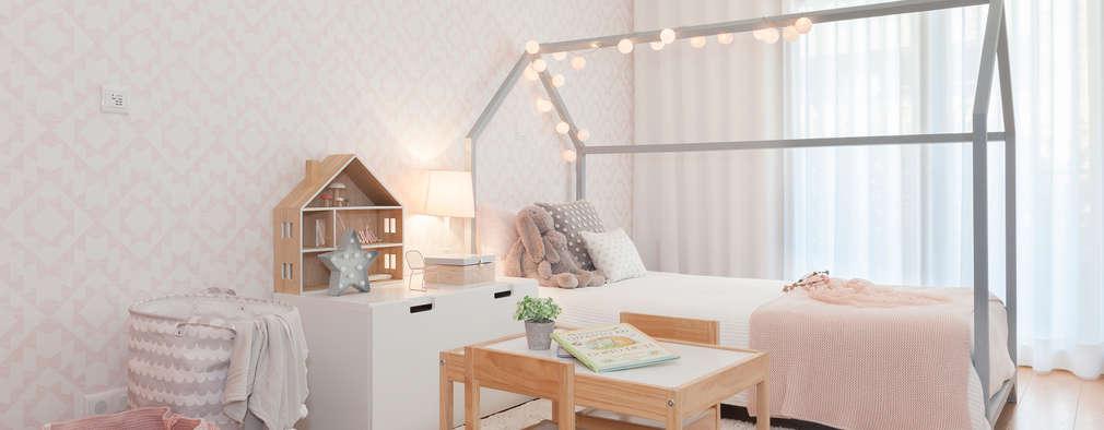 Habitaciones para niñas de estilo  por This Little Room