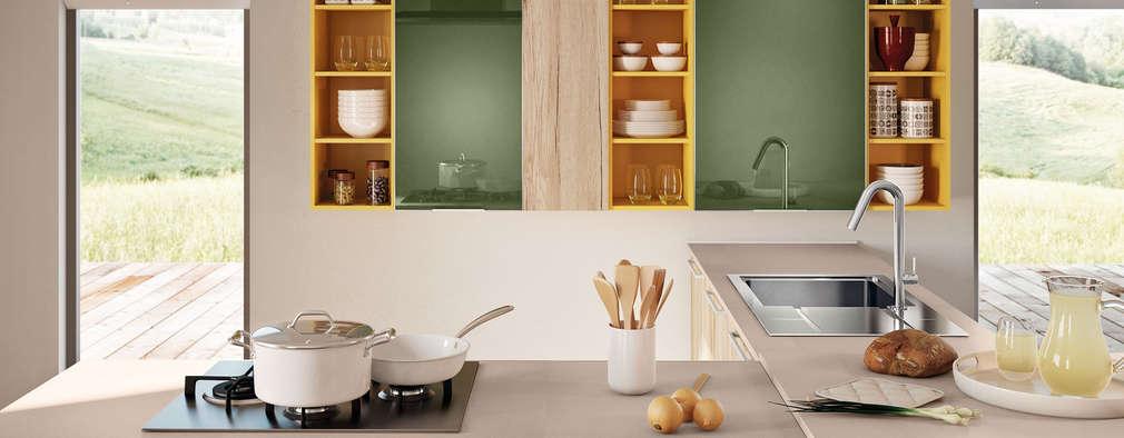 Modelo cozinha  Swing:   por area design interiores