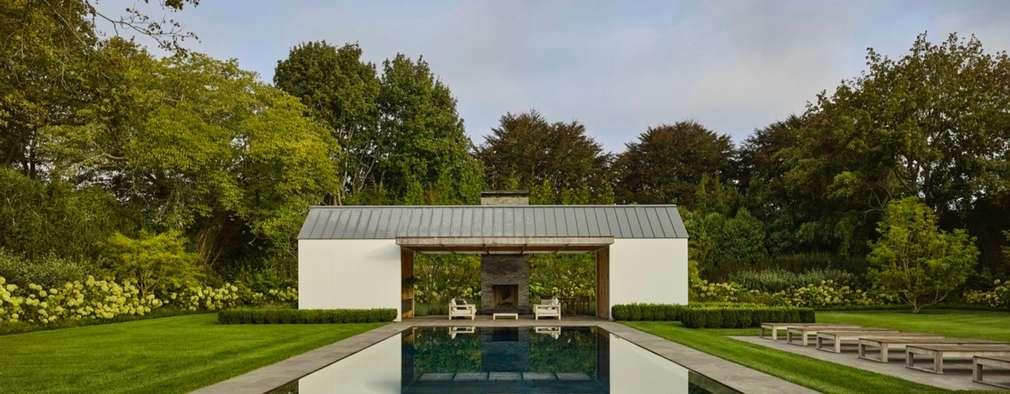 Pool Haus: moderner Pool von Paul Marie Creation